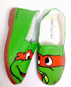 Solangel Unique Shoes: Zapatos pintados a mano - Ninja Turtles / Tortugas Ninja para niñosZapatos pintados a mano - Ninja Turtles - Tortugas Ninja para niños - Panama - Solangel -  Hand Painted Shoes - panama - hand painted shoes - zapatos pintados