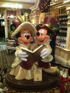 Victorian Mickey and Minnie