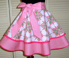 Gorgeous Springtime Hostess Apron by simplyaprons on Etsy, $30.00