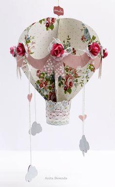 Kaisercraft Secret Garden Collection 'Balloon Mobile' (view 1) by - DT Member Anita Bownds - Wendy Schultz ~Altered Art.