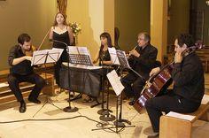 Coro para Matrimonio Religioso  Iglesia Santa María de las Condes 2009 Grupo de Cámara Mixto  Teclado Violín Cello Oboe y Soprano