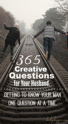 365 Creative Questions for Your Husband — Darby Dugger is part of Love my husband - To help you be a great student for your husband, here is a pdf file of 365 Creative Questions for Your Husband One to ask every day for a year Godly Marriage, Marriage Goals, Marriage And Family, Marriage Life, Happy Marriage, Marriage Advice, Relationship Advice, Dating Advice, Fun Relationship Questions