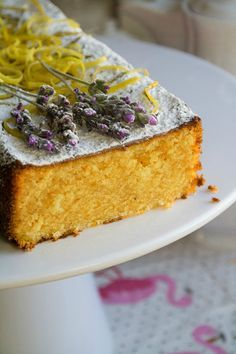 Κέικ Λεμονιού με Ελαιόλαδο