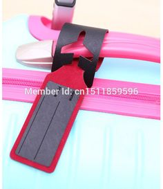5pcsllot Travel Accesories PU Leather Fashion Slim Travel Luggage Tags ( 24.7*4.5cm, 3 Colors )-in Bag Parts & Accessories from Luggage & Bags on Aliexpress.com   Alibaba Group