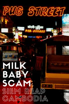 Discovering thee milk baby scam in Siem Reap