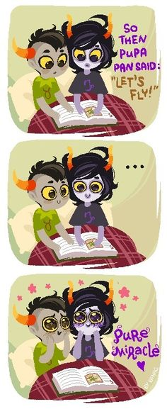 I ship Gamzee/Tavros (PB&J) forever. Oh my god this is so precious!