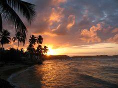 A praia de Natal, Brasil.  Que Beleza!