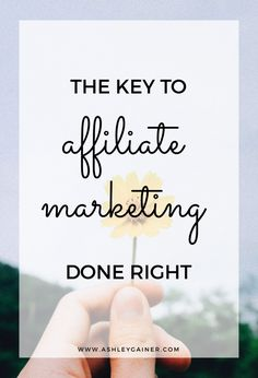 Do you know the #1 thing you need to remember with affiliate marketing? Click through to find out. Business Tips, Business Entrepreneur, Business Checks, Online Business, Email Marketing, Business Marketing, Affiliate Marketing, Mobile Marketing, Marketing Ideas