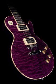 Purple Les Paul