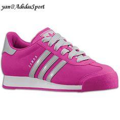 new arrival e4c4a 271fc Adidas Originals Women Samoa Retro Shoes Vivid Pink   Light Onix   White  HOT SALE!
