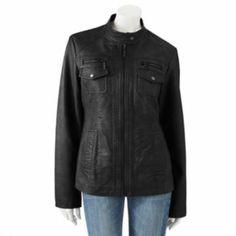 1218aae0d5 Apt. 9 Faux-Leather Jacket Light Scarves