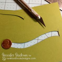 Penny Slider Card tutorial - bjl