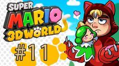 Super Mario 3D World Gameplay / Walkthrough w/ SSoHPKC Part 11 - Whomp Boss 2.0