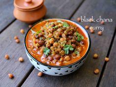 black chana masala, black chickpeas curry also known as desi chickpeas. Black Channa Recipe, Chana Recipe, Masala Recipe, Chickpea Recipes, Vegetarian Recipes, Indian Veg Recipes, Ethnic Recipes, Fried Fish Recipes, Indian Recipes