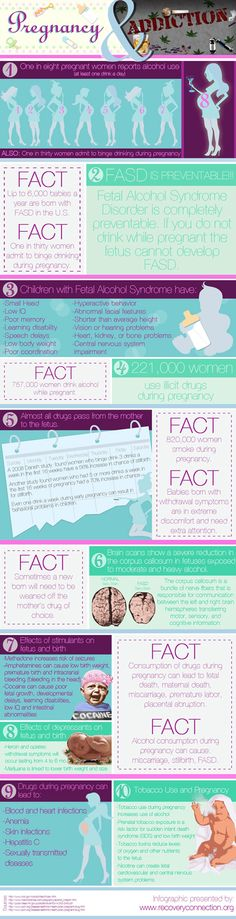 Pregnancy and Substance Abuse  This is terrible I hope u all read this and be as healthy as possible while prego