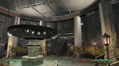 Post with 693 views. Fallout 4 Settlement Ideas, Atrium, Homesteading, Wander, Maine, Video Games, Internet, Awesome, Videogames