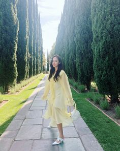 syj: Happiness and yellow dresses🍋🔆🌼✨ Kim Hyoyeon, Yoona, Snsd, Jessica & Krystal, Krystal Jung, Jessie, Korean Celebrities, Celebs, Jessica Jung Fashion