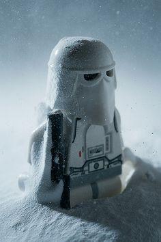 A Snowtrooper