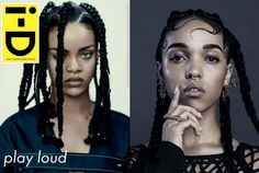 Is that you Ri-Ri? Rihanna strips off for FKA twigs inspired shoot
