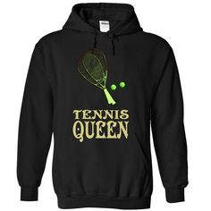 Tennis Queen - 0915, Order HERE ==> https://www.sunfrog.com/LifeStyle/Tennis-Queen--0915-6321-Black-Hoodie.html?53624 #xmasgifts #christmasgifts #birthdayparty #birthdaygifts