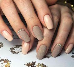 My absolute favourite! Elegant Nail Designs, Elegant Nails, Classy Nails, Stylish Nails, Trendy Nails, Shellac Nails, Nude Nails, Acrylic Nails, Hair And Nails