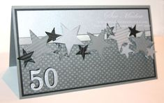 stampin up guy greetings | Masculine 50th Birthday Card: