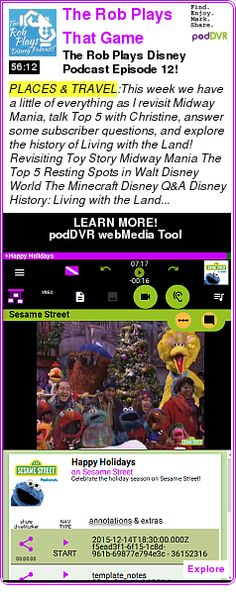 #PLACES #PODCAST  The Rob Plays That Game Disney Podcast!    The Rob Plays Disney Podcast Episode 12!    LISTEN...  http://podDVR.COM/?c=357ac3a9-b15e-35a1-f32f-7a7c14869c44