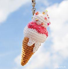 Erdbeer, Schokolade, Zitrone. Nichts ist so sommerlich wie ein Eis. Häkeln Sie Ihre Lieblingssorte mit dieser gratis Anleitung auf Wollplatz.de