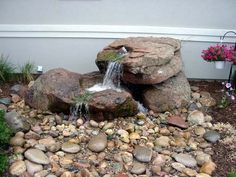 indoor water fountain ideas Image detail for -Pondless Falls Picture 2 Water Garden backyardwaterfountains Backyard Water Fountains, Diy Garden Fountains, Pond Fountains, Backyard Water Feature, Ponds Backyard, Water Falls Backyard, Stone Water Features, Small Water Features, Outdoor Water Features