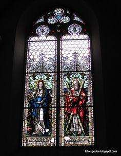 Vida v Šentvidu ob Glini Pictures, Stained Glass Panels