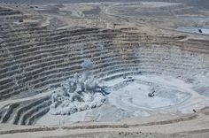 Cicatrices de la Tierra 4. Escondida, Chile- 1.48 million toneladas de cobre con un valor de US$ 10.12 billion cada año!