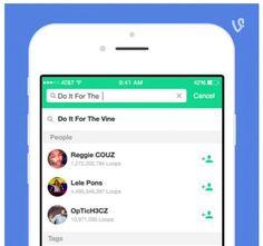 La app Vine incorpora mejoras en su buscador, además de permitir ver vines populares y recientes