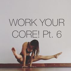 """WORK YOUR CORE! Pt. 6 These exercise all lead towards a """"V-sit"""" which is a great prep for straddle presses into inversions. • PREPARE Legs in 90 degrees, so NOT a side split Stretch it out, tighter the hamstrings harder the exercises. • 1. SINGLE LEG LIFTS 10x each leg Face one leg, have the fingertips around the knees, round the spine & tuck the tailbone under to lift the leg off the floor 2. DOUBLE LEG LIFTS 10x Fingertips between legs roughly in line with knees (just make sure the…"""