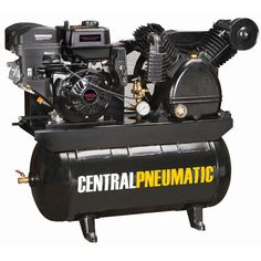 420, 1 gal., 180 Gas Powered Two-Stage Air Compressor