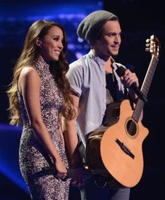 "Alex & Sierra hold the #1 spot on iTunes with ""Say Something."" #XfactorUSA"