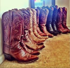 :) love me some boots!