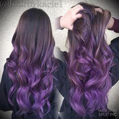 purple ombre                                                                                                                                                      More