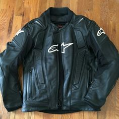 Alpinestars RC-1 leather motorcycle jacket Wonderful condition. My boyfriend never fell with this on. Original price over $600, this is a great deal. No scratches. alpinestars Jackets & Coats