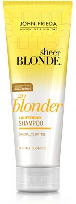 Help gradually lighten your hair with Go Blonder Lightening Conditioner. Help gradually lighten your Hair Lightening, Alcohol Free Toner, How To Lighten Hair, Makeup For Blondes, Summer Of Love, Textured Hair, Best Makeup Products, Beauty Products, Makeup Products