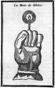 Magic hand of glory