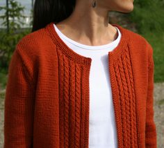 Casual Cardigan Pattern - Knitting Patterns and Crochet Patterns from KnitPicks.com
