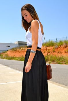 long black skirt - Google Search