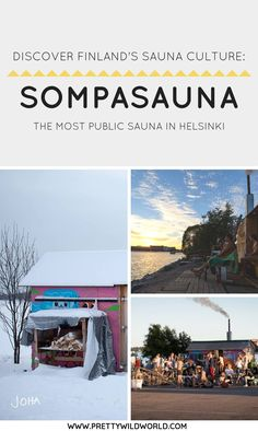 #SOMPASAUNA #SAUNA #HELSINKI #FINLAND #TRAVEL #LOCALGUIDE | Things to do in Helsinki | Public Sauna in Helsinki | Places to visit in Finland | Helsinki points of interest | Visit Helsinki | Travel to Helsinki | Trip to Helsinki