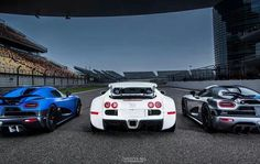 Dream machines. Koenigsegg & Bugatti.
