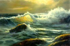 Seascape Workshop by Bill Blackman - WetCanvas