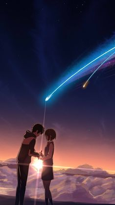 君の名は your name Your Name Wallpaper, Couple Wallpaper, Animes Wallpapers, Cute Wallpapers, Miyazaki, Kimi No Na Wa Wallpaper, Name Drawings, Your Name Anime, Film Your Name