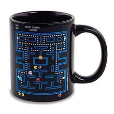 Pacman Taza Calor Cambio @ niftywarehouse.com #NiftyWarehouse #PacMan #VideoGames #Pac-man #Arcade #Classic