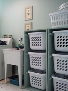 Laundry dresser - Click image to find more DIY & Crafts Pinterest pins