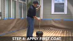 How to Apply Rust-Oleum Restore 10x