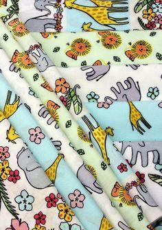 Safari Crush Cotton & Flannel | Timeless Treasures
